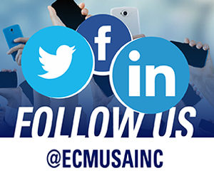 Follow Us! @ECMUSAINC