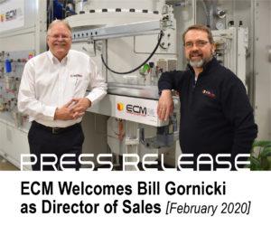 Press Release: Bill Gornicki