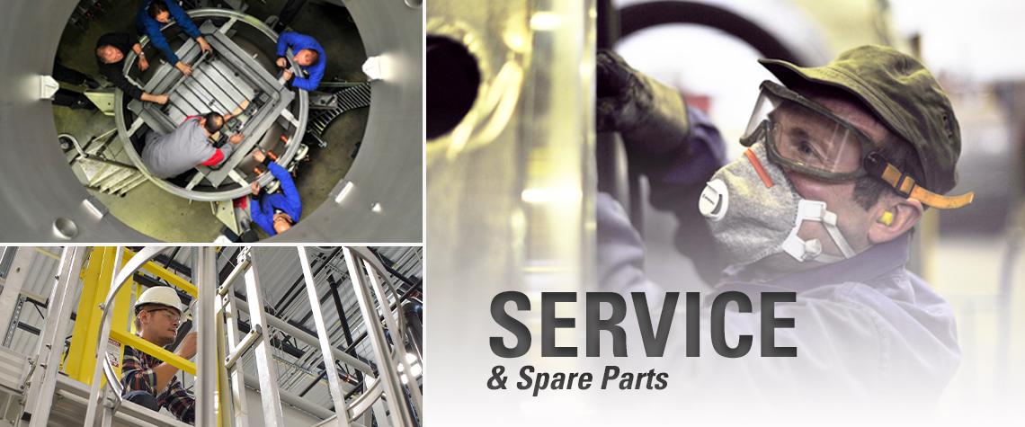 ECM Service & Spare Parts