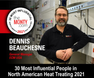 Dennis Beauchesne, 30 Top Influencers in the Heat Treat Industry 2021
