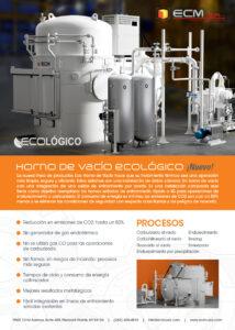 Espanol: ECM Horno de Vacio Ecologico